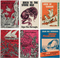 "Books:Hardcover, Edgar Rice Burroughs ""Pellucidar"" Group of 6 (Canaveral Press, 1962-63).... (Total: 6 Items)"
