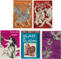 Books:Hardcover, Edgar Rice Burroughs Hardcover Editions Group of 5 (Canaveral Press, 1962-64).... (Total: 5 Items)