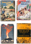 Books:Hardcover, L. Patrick Greene Hardcover Editions Box Lot (Various, 1924-38) Condition: Average VG....