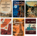 Books:Hardcover, L. Sprague de Camp Hardcover Editions Group of 6 (Various, 1951-89).... (Total: 6 Items)