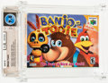 Video Games:Nintendo, Banjo-Tooie Wata 9.0 CIB N64 Nintendo 2000 USA....