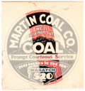 Original Comic Art:Illustrations, Edgar Church Martin Coal Co. Coal Decorative Advertisement Preliminary Original Art (Church Studio, 1932). ...