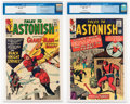 Silver Age (1956-1969):Superhero, Tales to Astonish #52 and 54 CGC-Graded Group (Marvel, 1964).... (Total: 2 Comic Books)