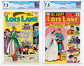 Silver Age (1956-1969):Superhero, Superman's Girlfriend Lois Lane #48 and 68 CGC-Graded Group (DC, 1964-66) CGC VF- 7.5.... (Total: 2 Comic Books)
