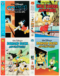Carl Barks Library Editions Group of 132 (Gladstone/Gemstone, 1980s-90s) Condition: Average NM-