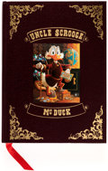 Memorabilia:Disney, Carl Barks Uncle Scrooge McDuck: His Life and Times Hardcover Book #2943/5000 (Celestial Arts, 1981)....