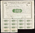 Confederate Notes:Group Lots, Ball 7 Cr. 7A Bond $500 1861 16 Examples Fine or Better.. ... (Total: 16 items)