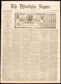 Miscellaneous:Other, Philadelphia Inquirer September 17, 1861 Edition - Three Y...