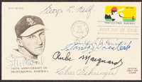 1969 Stan Musial Multi-Signed First Day Cover (6 Signatures)