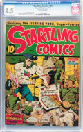 Startling Comics #24 (Better Publications, 1943) CGC VG+ 4.5 Off-white pages