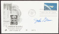 Autographs:Post Cards, 1962 John Glenn Signed First Day Cover....