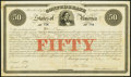 Confederate Notes:Group Lots, Ball 10 Cr. 1 $50 1861 Bond Very Fine-Extremely Fine Remainder.. ...