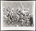 Football Collectibles:Tickets, 1959 Vince Lombardi NFL Debut & 1st Career Win Original Photograph....