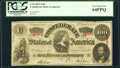 Confederate Notes:1863 Issues, T56 $100 1863 PF-1 Cr. 403 PCGS Very Choice New 64PPQ.. ...