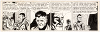 Gene Hughes (attributed) Mike Reagan Tryout Comic Strip Unpublished Original Art (c. 1950s)