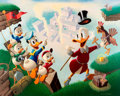 Memorabilia:Disney, Carl Barks Return to Plain Awful Signed Limited Edition Lithograph Print #60/345 (Another Rainbow, 1989). ...