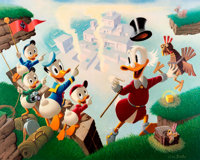 Carl Barks Return to Plain Awful Signed Limited Edition Lithograph Print #60/345 (Another Ra