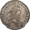 Early Dollars, 1795 $1 Draped Bust, Centered, B-15, BB-52, R.2, AU53 NGC....