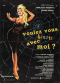 "Movie Posters:Foreign, Come Dance with Me! (UFA Sofradis, 1959). Folded, Very Fine-. French Moyenne (22.75 X 31.5"") Clement Hurel Artwork. Foreign...."