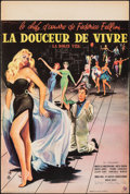 Movie Posters:Foreign, La Dolce Vita (Consortium Pathe, 1960). Rolled, Very Fine-...