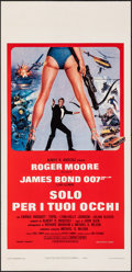 Movie Posters:James Bond, For Your Eyes Only (United Artists, 1981). Folded, Very Fi...