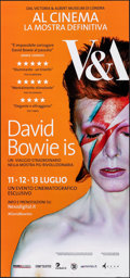 """Movie Posters:Documentary, David Bowie Is (Victoria and Albert Museum, 2013). Rolled, Very Fine/Near Mint. Italian Locandina (12.5"""" X 26.75"""") Brian Duf..."""