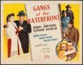 Movie Posters:Crime, Gangs of the Waterfront & Other Lot (Republic, 1945). Roll...