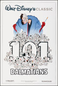 """Movie Posters:Animation, 101 Dalmatians & Other Lot (Buena Vista, R-1985). Rolled, Very Fine+. One Sheets (2) (27"""" X 40"""") DS. Animation.. ... (Total: 2 Items)"""