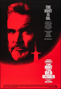 "The Hunt for Red October & Other Lot (Paramount, 1990). Rolled, Very Fine+. One Sheets (2) (27"" X 40""..."
