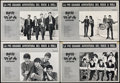 Movie Posters:Rock and Roll, A Hard Day's Night (Giangi Films, R-1982). Folded, Fine/Ve...