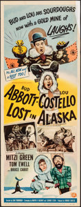 Movie Posters:Comedy, Lost in Alaska (Universal International, 1952). Folded, Fi...