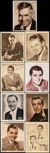 Movie Posters:Miscellaneous, Clark Gable & Other Lot (c. 1930s-1940s). Very Fine.