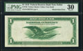 Error Notes:Large Size Errors, Fr. 740 $1 1918 Federal Reserve Bank Note PMG Very Fine 30.. ...