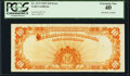 Error Notes:Large Size Errors, Fr. 1173 $10 1922 Gold Certificate PCGS Extremely Fine 40.. ...