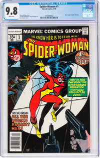 The Spider-Woman #1 (Marvel, 1978) CGC NM/MT 9.8 White pages