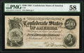 Confederate Notes:1864 Issues, T64 $500 1864 PF-2 Cr. 489 PMG Choice About Unc 58.. ...