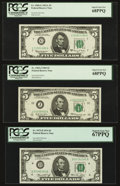 Small Size:Federal Reserve Notes, Fr. 1968-G $5 1963A-2013 Federal Reserve Notes Seventeen Examples.. ... (Total: 17 notes)