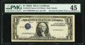 Error Notes:Inverted Third Printings, Fr. 1613N $1 1935D Narrow Silver Certificate. PMG Choice Extremely Fine 45.. ...