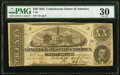 Confederate Notes:1863 Issues, T58 $20 1863 PFR-6 Cr. UNL PMG Very Fine 30.. ...