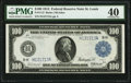 Large Size:Federal Reserve Notes, Fr. 1112 $100 1914 Federal Reserve Note PMG Extremely Fine 40.. ...