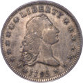 Early Dollars, 1795 $1 Flowing Hair, Two Leaves, B-4, BB-14, R.4, VF35 PCGS. CAC....