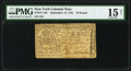 Colonial Notes:New York, New York May 12, 1755 £10 PMG Choice Fine 15 Net.. ...