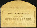 Miscellaneous:Other, Snow & Hapgood 22 Court Street Boston 25 CENTS. PE699. Extremely Fine.. ...