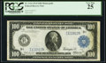Large Size:Federal Reserve Notes, Fr. 1116 $100 1914 Federal Reserve Note PCGS Very Fine 25.. ...