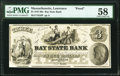 Lawrence, MA- Bay State Bank $3 18__ G6 Proof PMG Choice About Unc 58