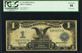 Error Notes:Large Size Inverts, Fr. 234 $1 1899 Silver Certificate PCGS Very Good 8.. ...