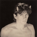 Photographs, Arthur Rimbaud with Robert Mapplethorpe . A Season in Hell, Limited Edition, 1986. Hardcover bound book with photogravur...