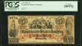 Confederate Notes:1861 Issues, T31 $5 1861 PF-2 Cr. 245 PCGS Very Fine 20PPQ.. ...