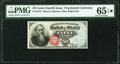 Fractional Currency:Fourth Issue, Fr. 1376 50¢ Fourth Issue Stanton PMG Gem Uncirculated 65 EPQ★ .. ...
