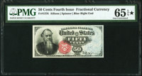 Fr. 1376 50¢ Fourth Issue Stanton PMG Gem Uncirculated 65 EPQ★